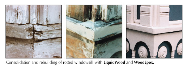 rotted wood repair