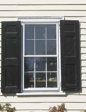 Historic Wood Shutters Vs Vinyl Shutters Wooden Exterior Shutters Home Design Idea