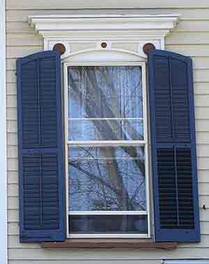 Historic Wood Shutters Vs Vinyl Shutters Wooden Exterior Shutters 2015 Home Design Ideas