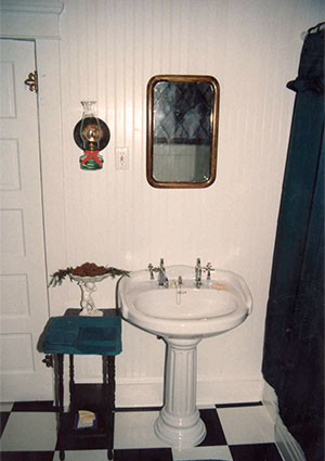 Bathroom after restoration