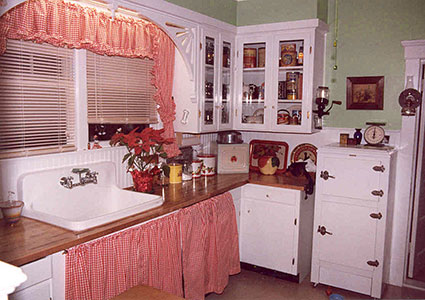 My kitchen after restoration