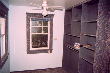 My mudroom before restoration