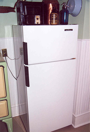 My refrigerator before conversion