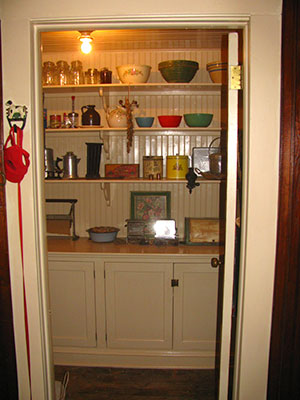 My pantry after restoration