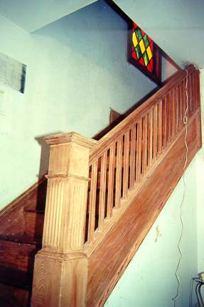 How To Remove Paint From Wood Stair Railings Photos Freezer And