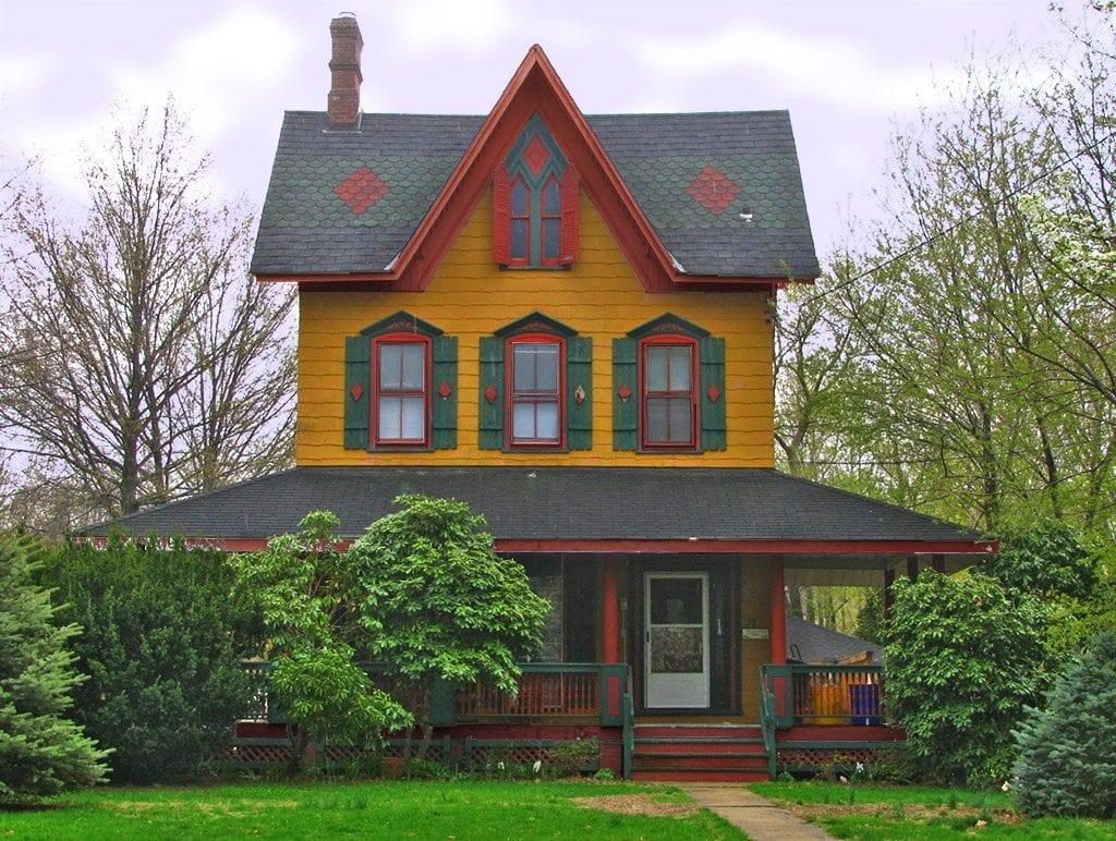 Victorian Gothic House Critique