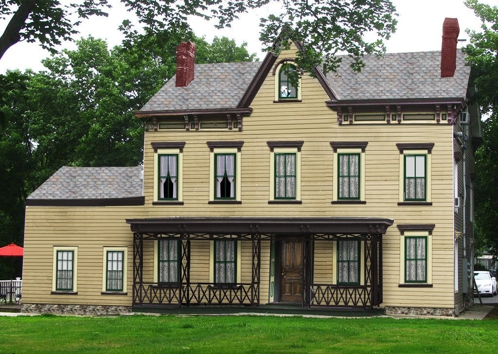 Raritan landing restoration of historic onderdonk house - Pictures of exterior shutters on homes ...