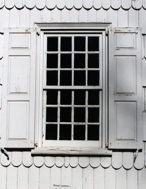The Window Sash A Character Defining Element Of A