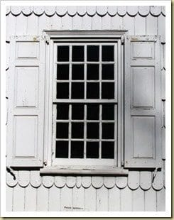 historic double hung window