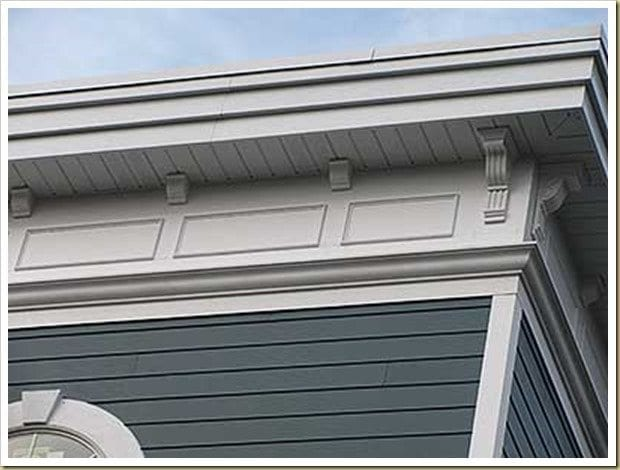 Greg Clark of Bach + Clark architects LLC designed this cornice badly