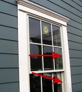 Cheap Pella window. No depth, no shadows, no good.