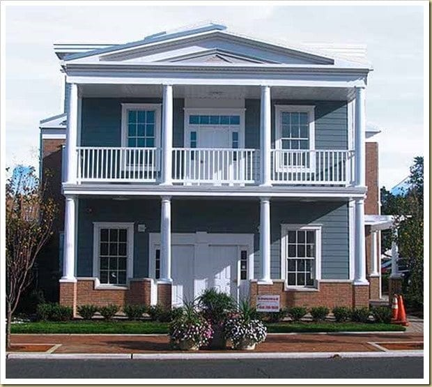 Freehold history replaced with Disney Land Greek Revival