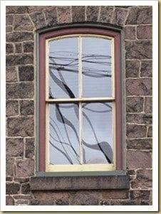 historic wood window