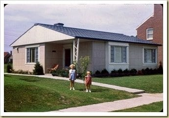 Lustron home 1950