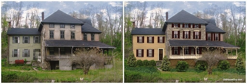 Haunted house? Deserted House gets New Life with Historic ...