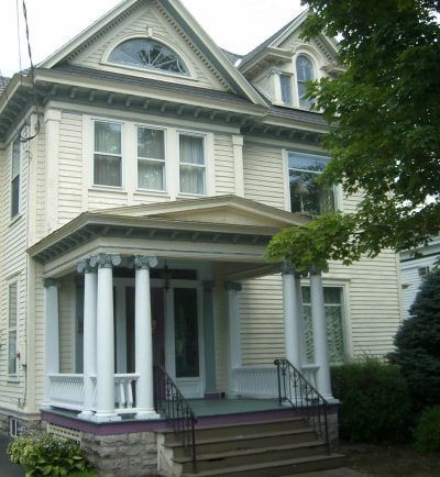 Exterior paint colors consulting for old houses sample for Classic house painting