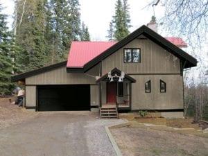 Alaska house painted