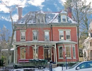 brick victorian paint