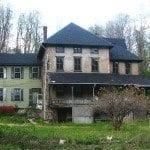 deserted house before restoration