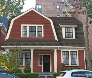 dutch colonial red shingles new roof