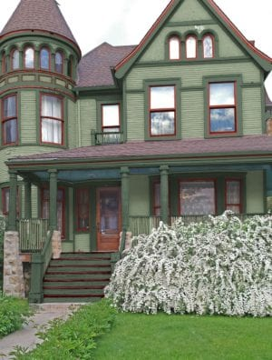 Kennebunkport Green Queen Ann Paint