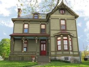 Victorian porch paint
