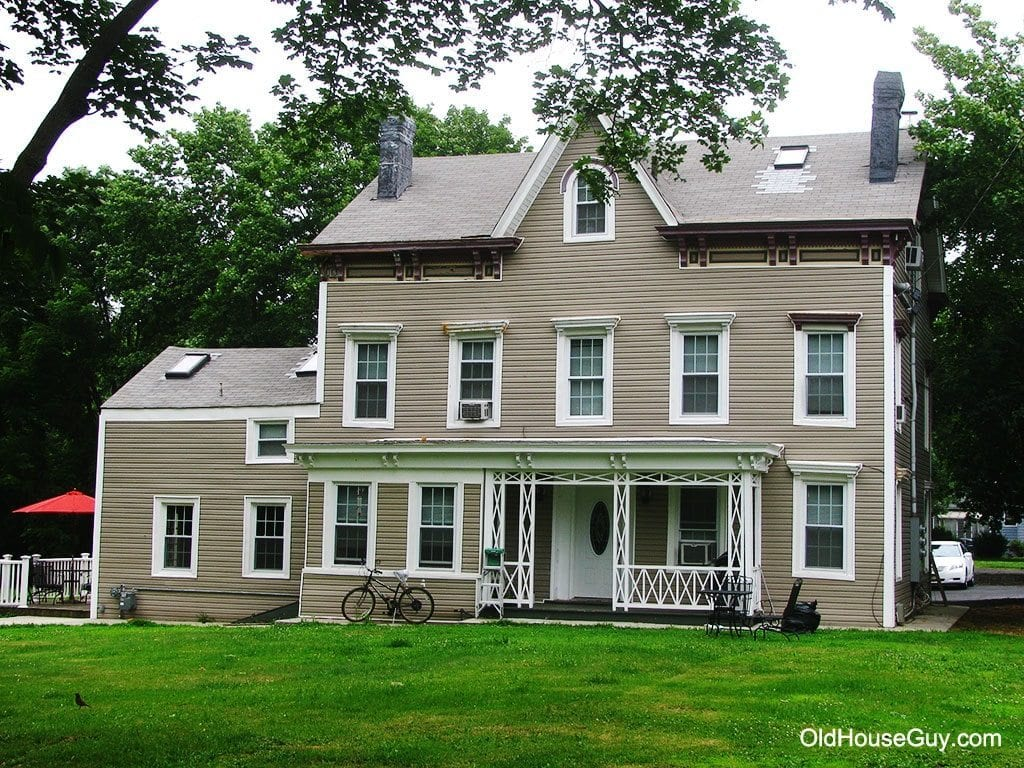 Raritan landing restoration of historic onderdonk house for Classic house vinyl