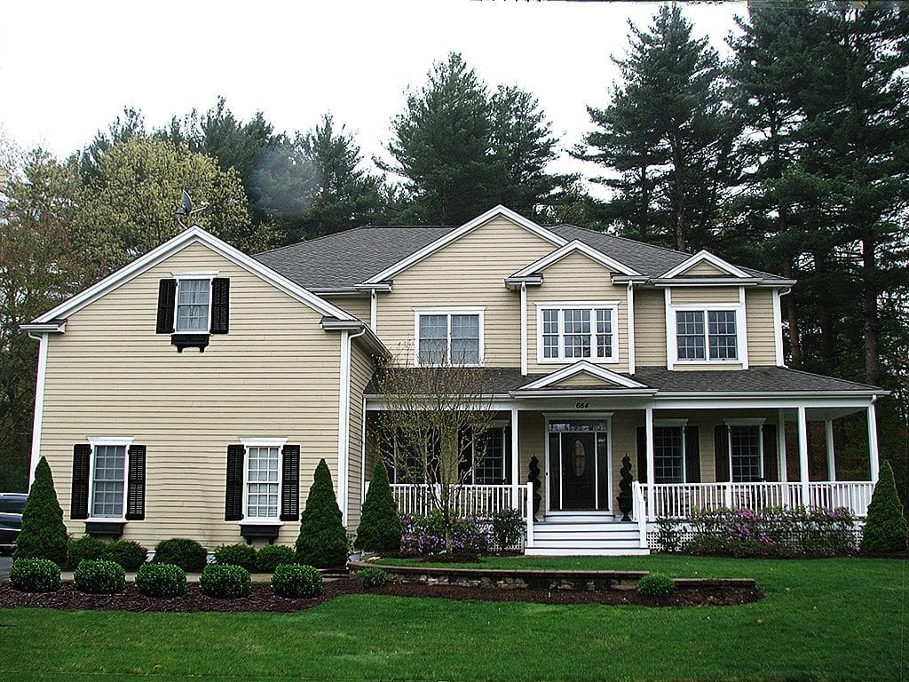 Shutters And Landscaping Improve Curb Appeal
