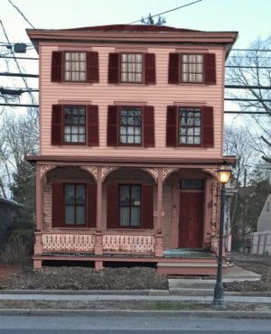 pink house historic