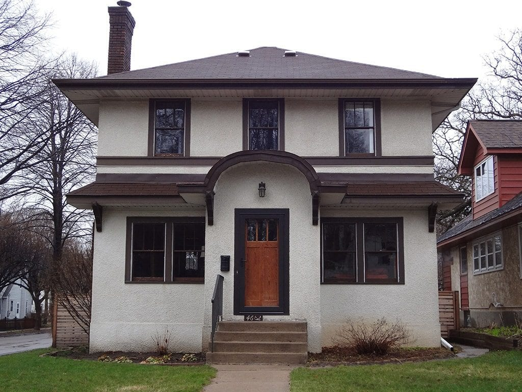 Exterior paint colors consulting for old houses sample for Prairie house style
