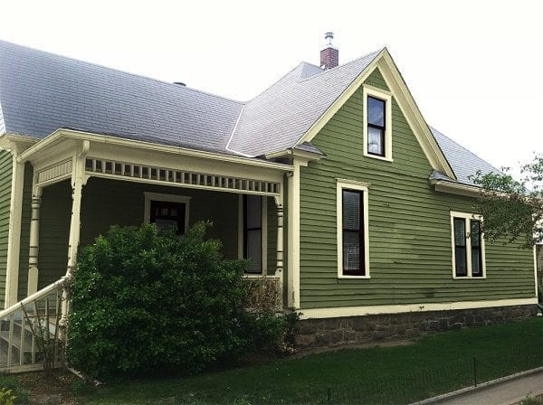 New exterior paint colors.
