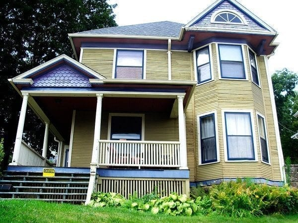 Before Painting Needs Color Placement Corrections Badly New Victorian Exterior Paint