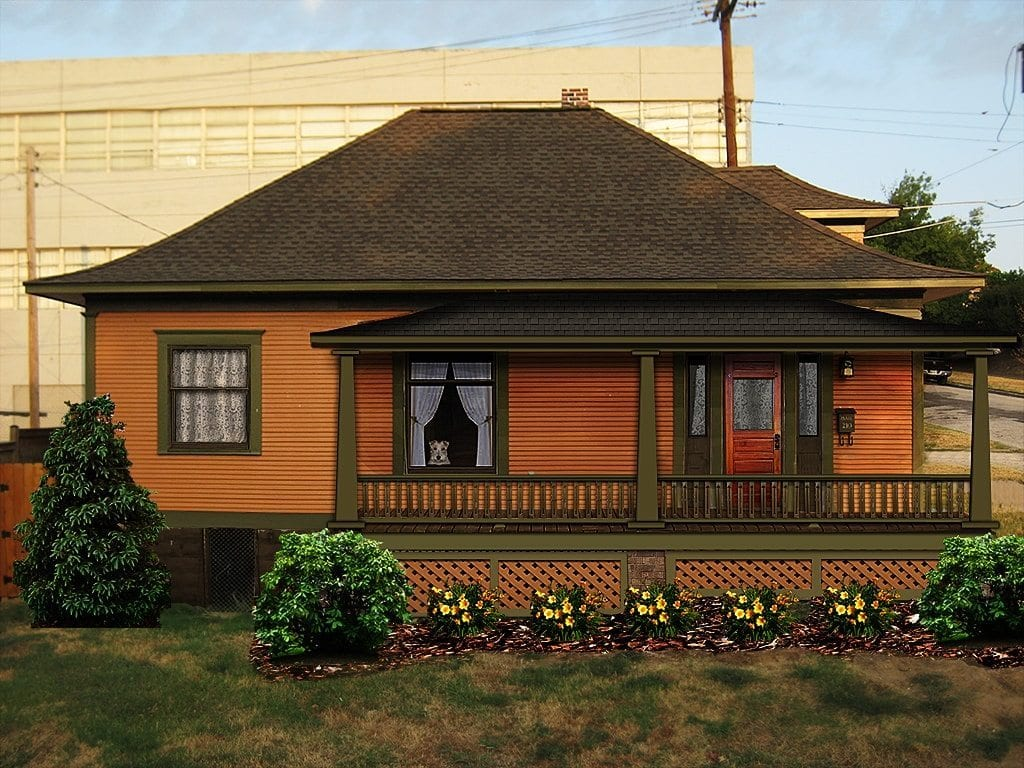 Bungalow porch design restoration brings house back to life for Bungalow style