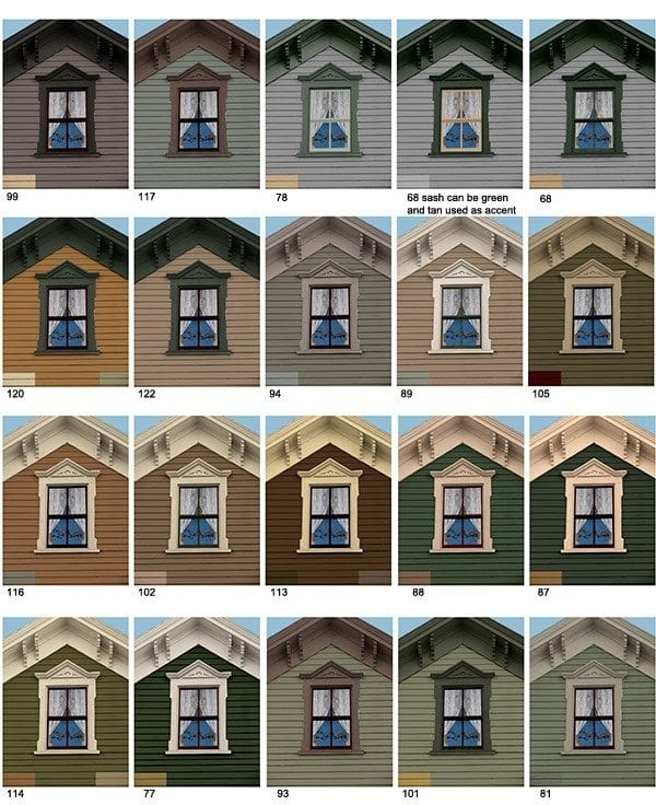 Help for your old house virtual restoration services - Best color for exterior house paint image ...