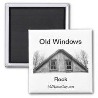 old windows magnet