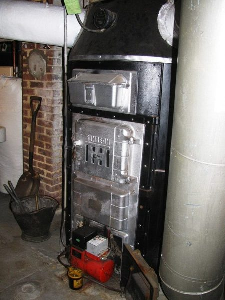 sunbeam gravity coal furnace octopus