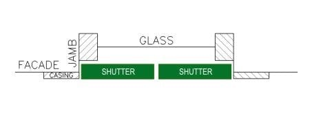 closed shutter diagram