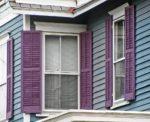 mounting shutters in corner