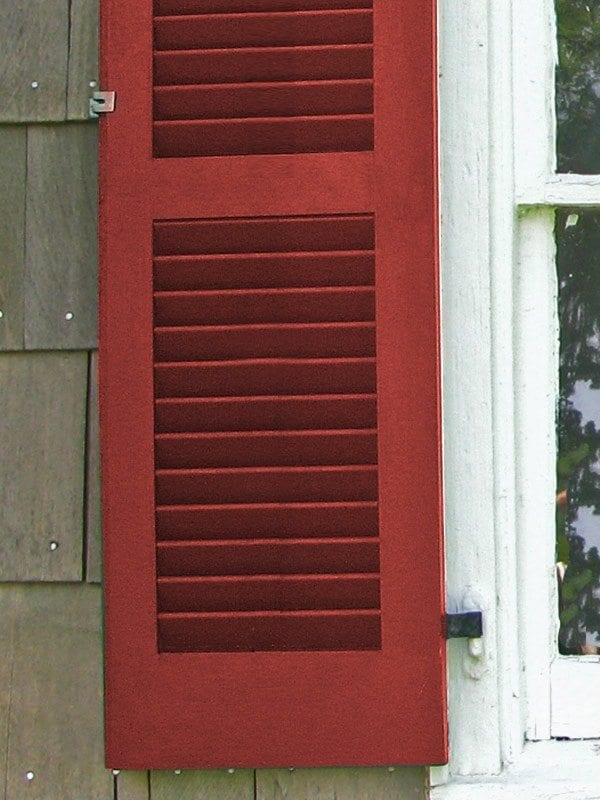 All about exterior window shutters oldhouseguy blog - Exterior louvered window shutters ...