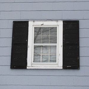 large shutters too tall and wide for small window