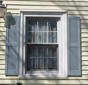 narrow shutters plastic ugly