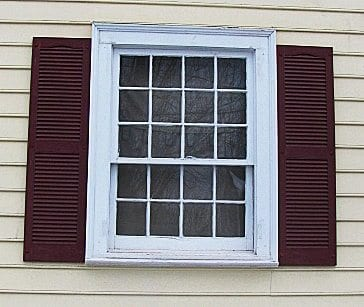 All about exterior window shutters oldhouseguy blog for Shutter styles