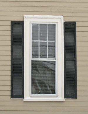 plastic shutters mounted wrong