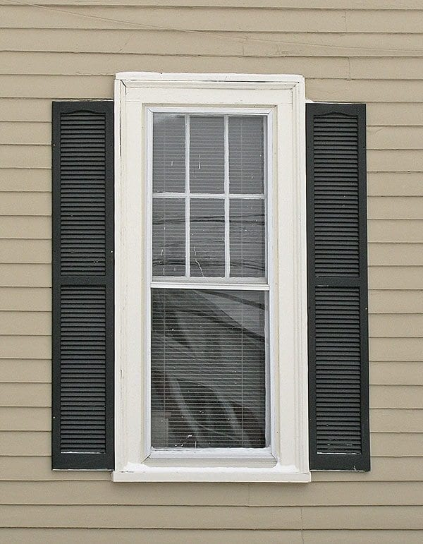 All about exterior window shutters oldhouseguy blog for Window shutters