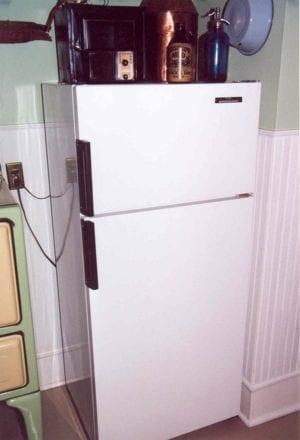 refrigerator icebox