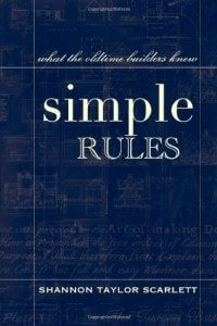 simple rules to architectural design book