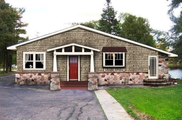 craftsman renovation with craftsman windows