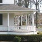 Victorian Circular Porch Restored
