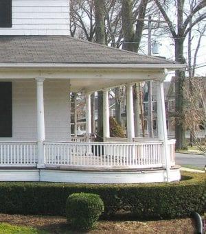 round front porch
