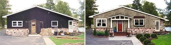 craftsman makeover before and after